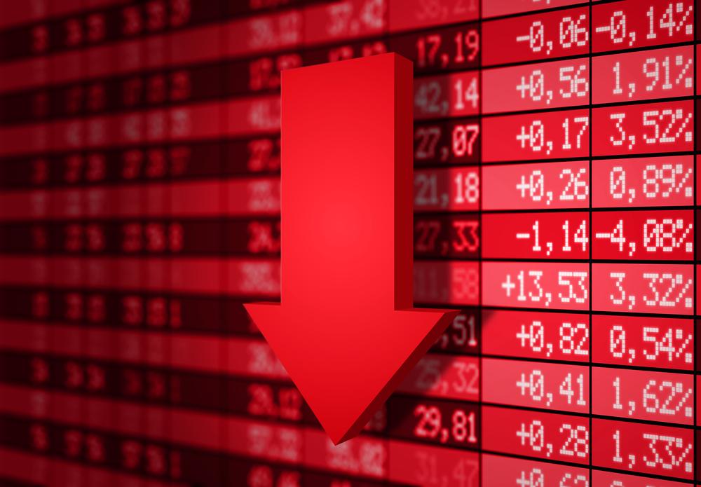 discesa dei mercati