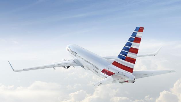 American Airline - aereo in volo