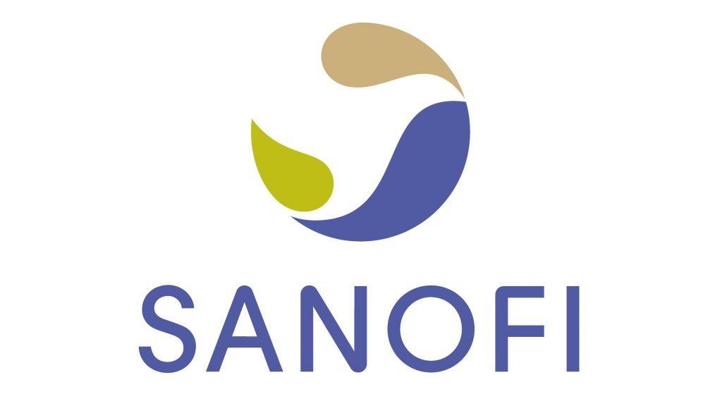 Sanofi (SNY) scritta e logo