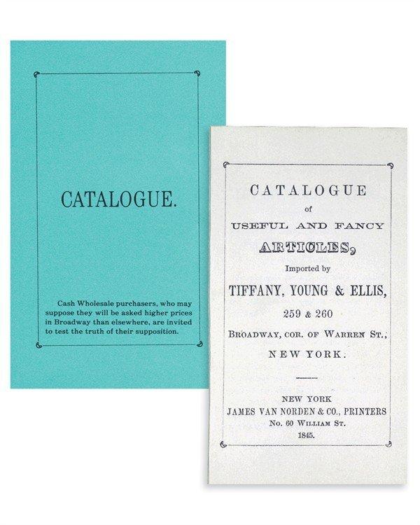 Blue book Tiffany
