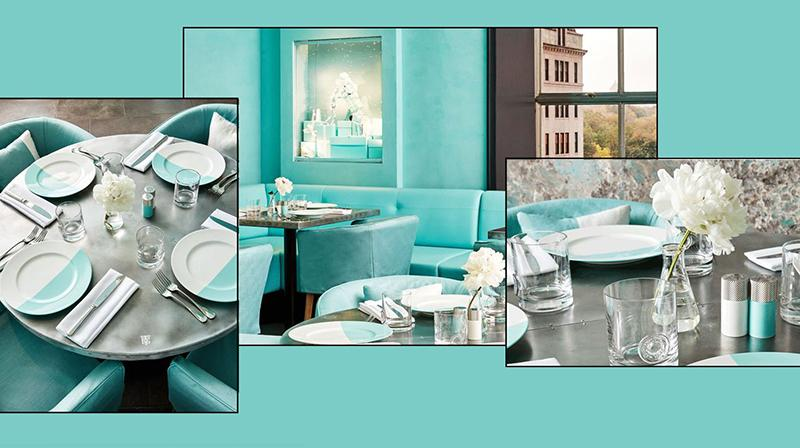 Tiffany - Blue Box café al quarto piano dello storico flagship sulla Fifth Avenue