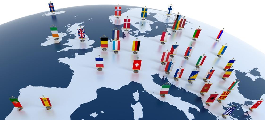 Stime di crescita dell'Europa